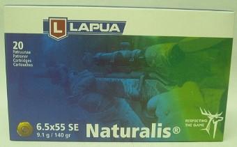 6,5x55 SE Naturalis - 9,1g/140grs (a20)