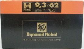 9,3x62 HMK - 16,7g/258gr (a20)
