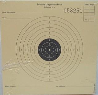 LG-Scheibe 10er Ring 12x12cm -