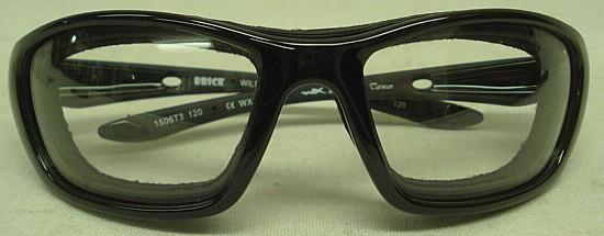 WileyX Brille Brick R - Rahmen schwarz/Gläser klar