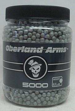 BBs 0,20g/grau/5000stk - 6mm/Oberland Arms Quality