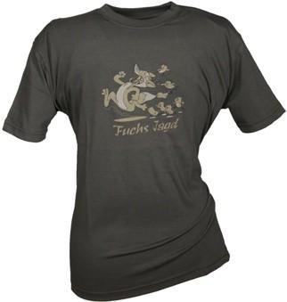 Kinder Shirt - Aufdruck Fuchsjagd