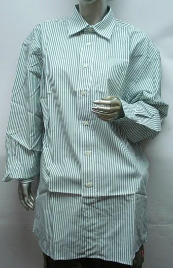 Hemd 1/1-Arm, Gr. 40 - 1 Brusttaschen, gestreift