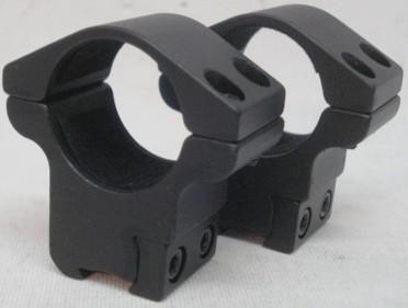 Montage TS-250 1'' Ringe - 11mm Schiene,BH 18mm,