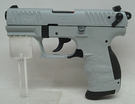 Walther P22Q Concrete Kal.9mmP.A.K.