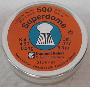 SuperDome 4,50mm - 0,54g/8,3gr (a500)