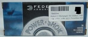 .222Rem PSSP PowerShokSoftPoin - 3,2g/50gr (a20) #222A