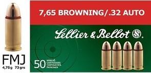 7,65mmBrown. (.32Auto) - 4,75g/73gr (a50)