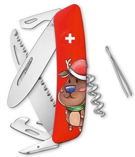 SWIZA Kinder-Taschenmesser - J06 Junior X-MAS DEER