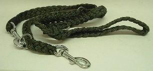 Mehrzweckleine aus Nylon 2 m - 25mm breit, grüner Gurt