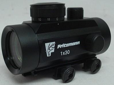 Leuchtpunkt-Zielvisier 1x30 - integrierte Weaver-Montage
