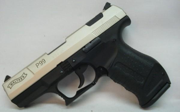 P99 Kal.9mm P.A.K.-bicolor