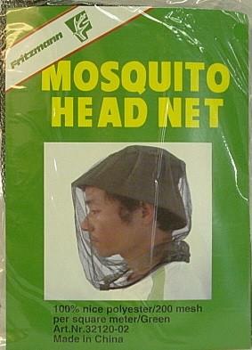 Insektenschutznetz Mosquito - Kopfnetz mit Gummizug