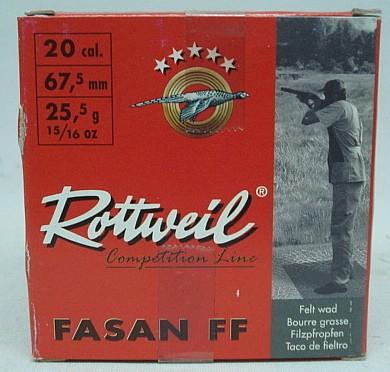 Fasan FF20/67,5 - 2,0mm/24g -Skeet- (a25)