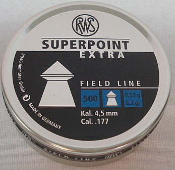SuperPoint 4,5mm - 0,53g/8,2gr (a500)