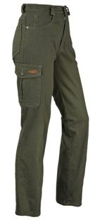Damenhose 5-Pocket - mit Beintasche,