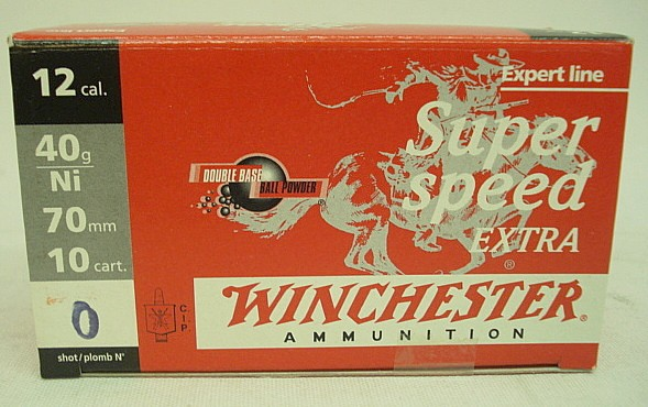 Super Speed Extra 12/70 - Nr.0/3,9mm/40g/a10#CHS2EX40P0#