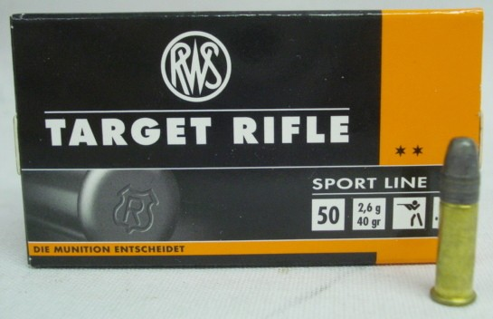 RF .22l.r Target Rifle - a50