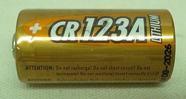 Batterie CR123A - Alkaline